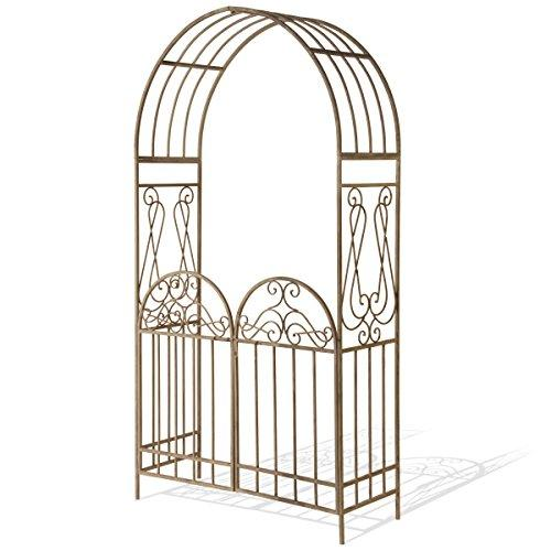 National Tree Garden Accents Gated Archway