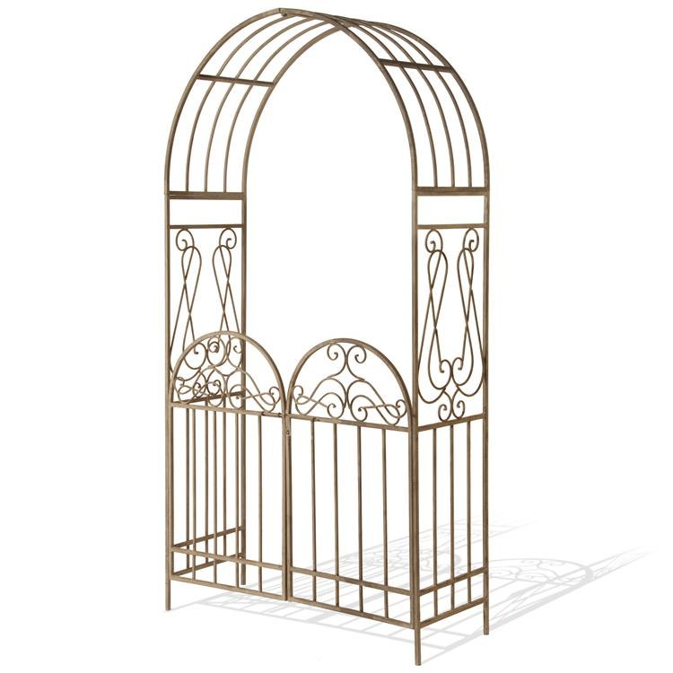 National Tree 93 inch  Garden Accents Gated Archway - [GAMC30-93RB]