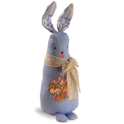 Garden Accents Fabric Blue Rabbit