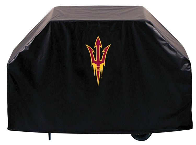 Arizona State Grill Cover with Pitchfork Logo