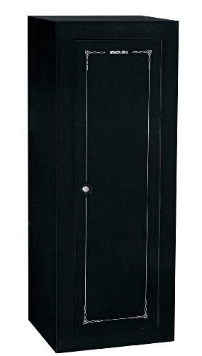 Stack-On 18-Gun Convertible Security Cabinet, Black