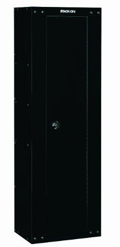8-Gun Ready to Assemble Security Cabinet, Black