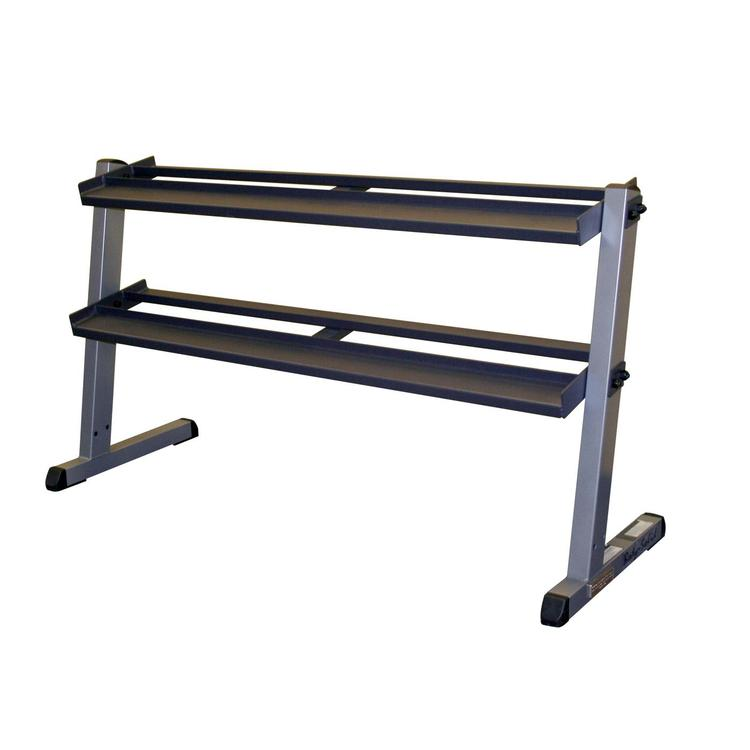 Body Solid 2 Tier Pro Dumbell Rack