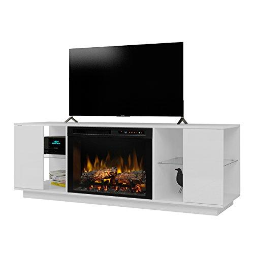 Dimplex Flex Lex Media Console Electric Fireplace With Logs [Item # GDS26L8-1652W]
