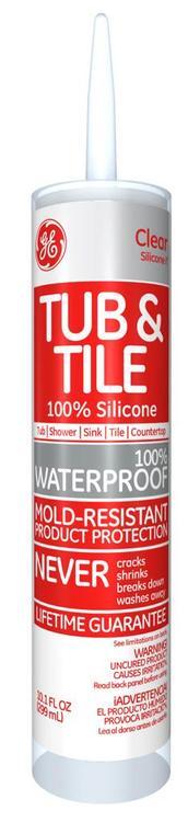 Ge612 Sealant Tub/Tile Clr