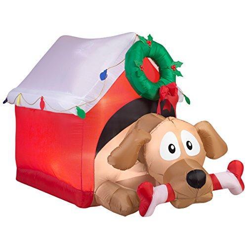 Inflatable Animated Dog Decoration