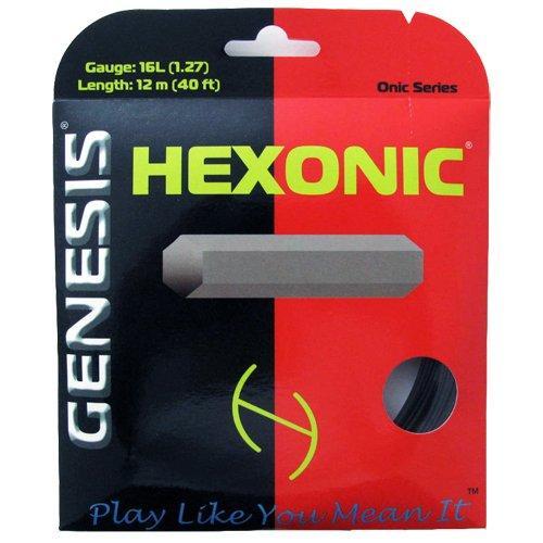 Genesis Hexonic 18L- 1.09mm- Black- 40' Set