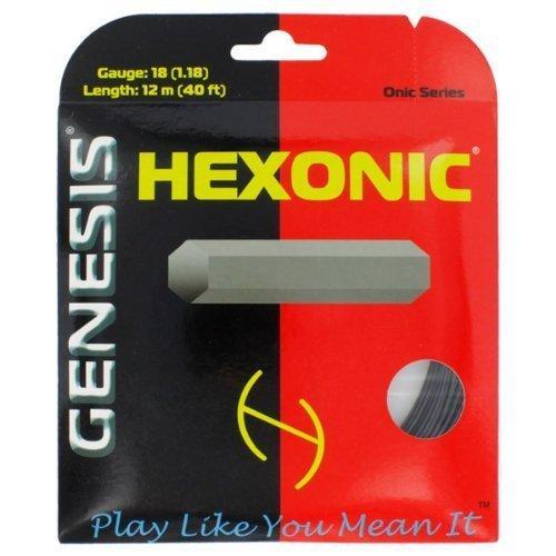 Genesis Hexonic 16l- 1.27mm- Black- 40' Set
