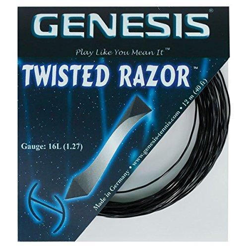 Genesis Twisted Razor 16L- 1.27m- Pitch Black- 40' Set