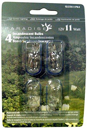 11W Wedge Bulb 4 Pack