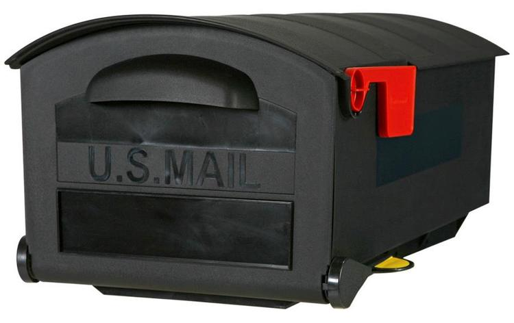 Gmb515B01 Mailbox Med Black