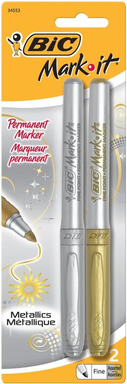 Bic Gmpmp21-Ast Mark It Metl Pen2P