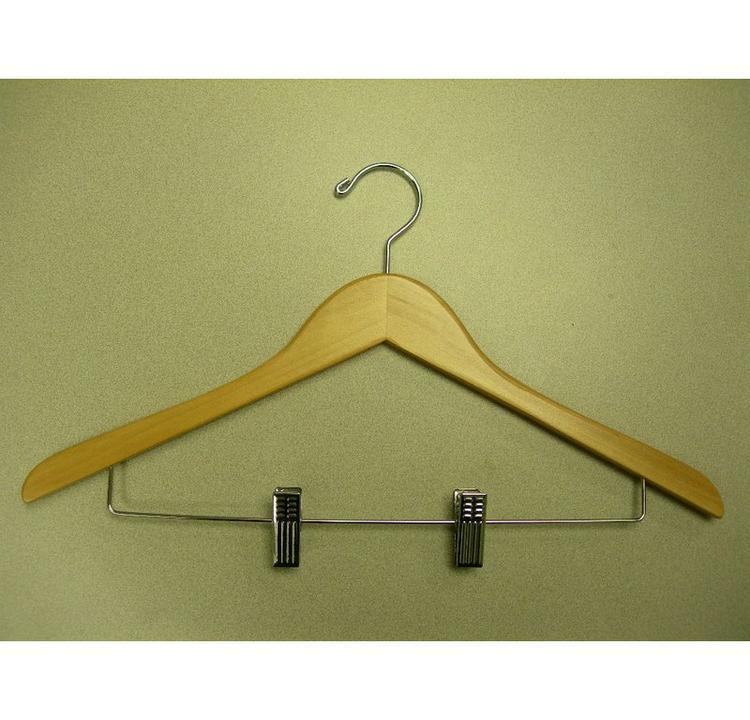 Proman Wooden hanger - flat [Item # GND8804]