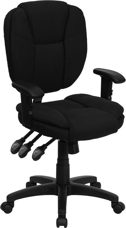 Mid-Back Multifunction Ergonomic Swivel Task Chair