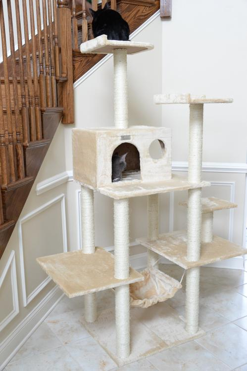 Gleepet Cat Tree With Hammack 5 Levels