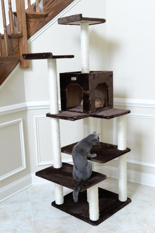 Gleepet Cat Tree 4 Levels