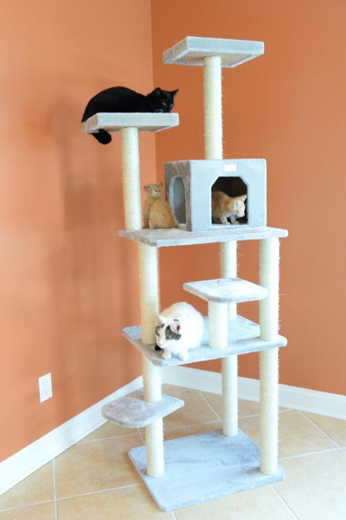 Armarkat Gleepet Cat Tree 7 Levels