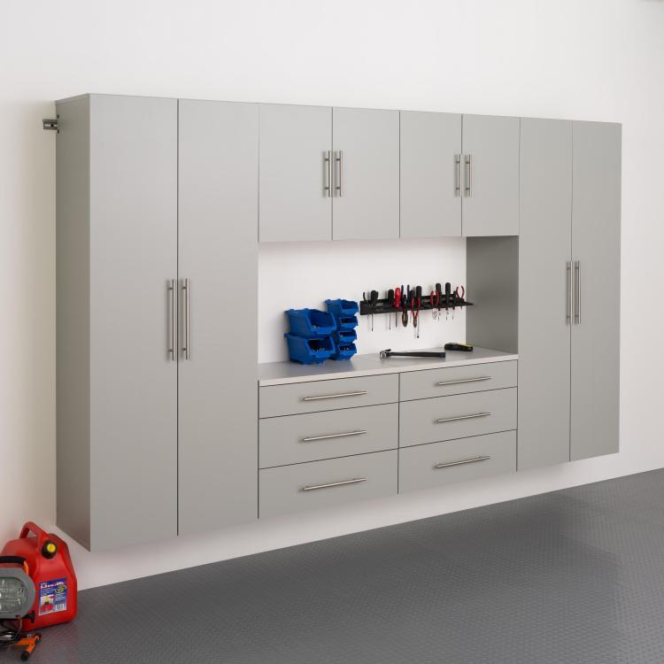 Prepac Hangups Storage Cabinet Set I [Item # GRGW-0709-6M]