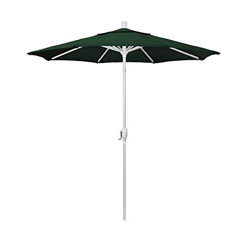 California Umbrella 7.5' Pacific Trail Series Patio Umbrella Aluminum Ribs Push Button Tilt Crank Lift