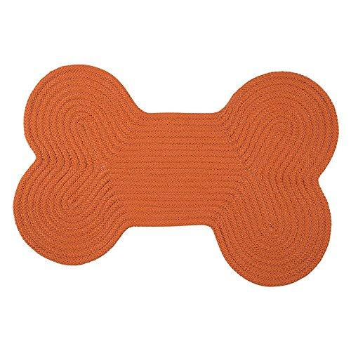 Dog Bone Solid -  Orange 18