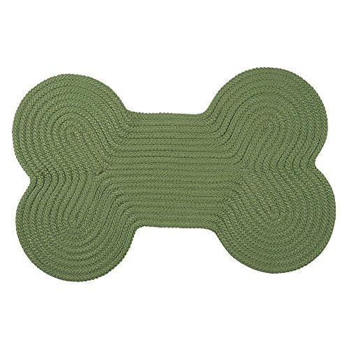 Dog Bone Solid -  Moss Green 18