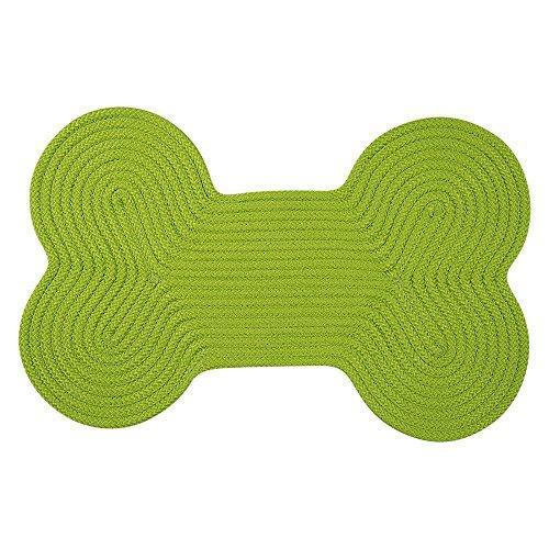 Dog Bone Solid -  Bright Green 18