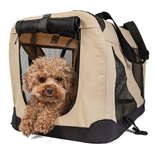 Folding Zippered 360ø Vista View House Pet Crate