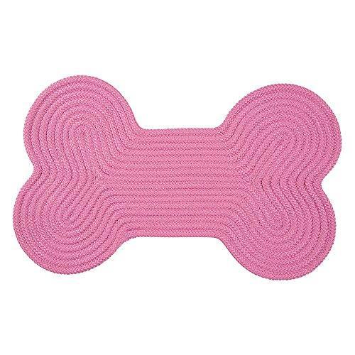 Dog Bone Solid -  Pink 18
