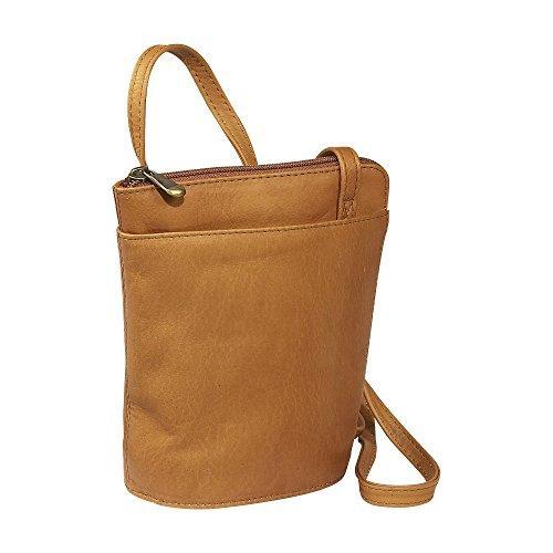 L-Zip Shoulder Bag [Item # H-50-TN]