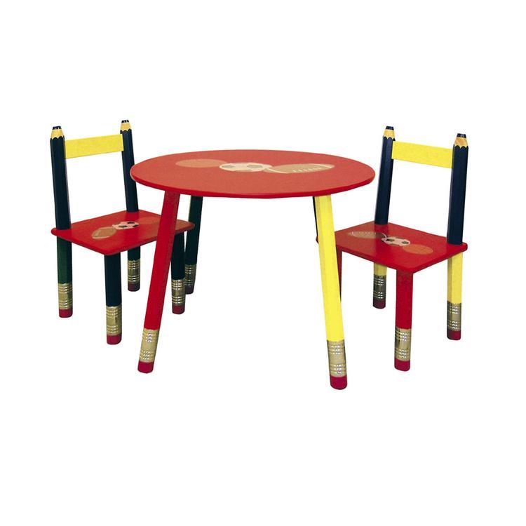 ORE International Kids Table 3-Pc. Set - White Table