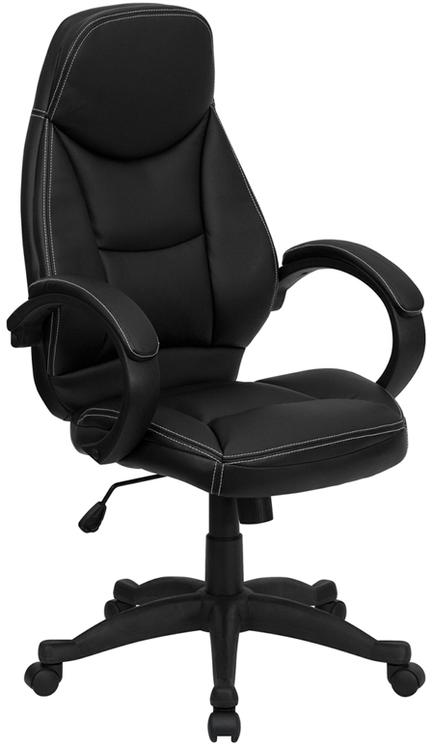 High Back Leather Contemporary Executive Swivel Chair