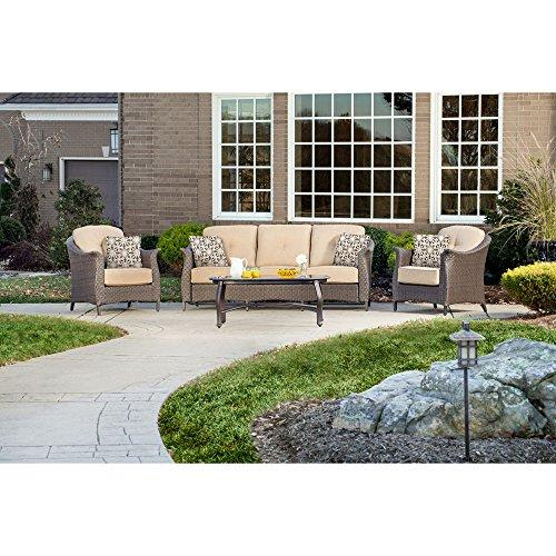 Gramercy 4-Piece Seating Set in Country Cork
