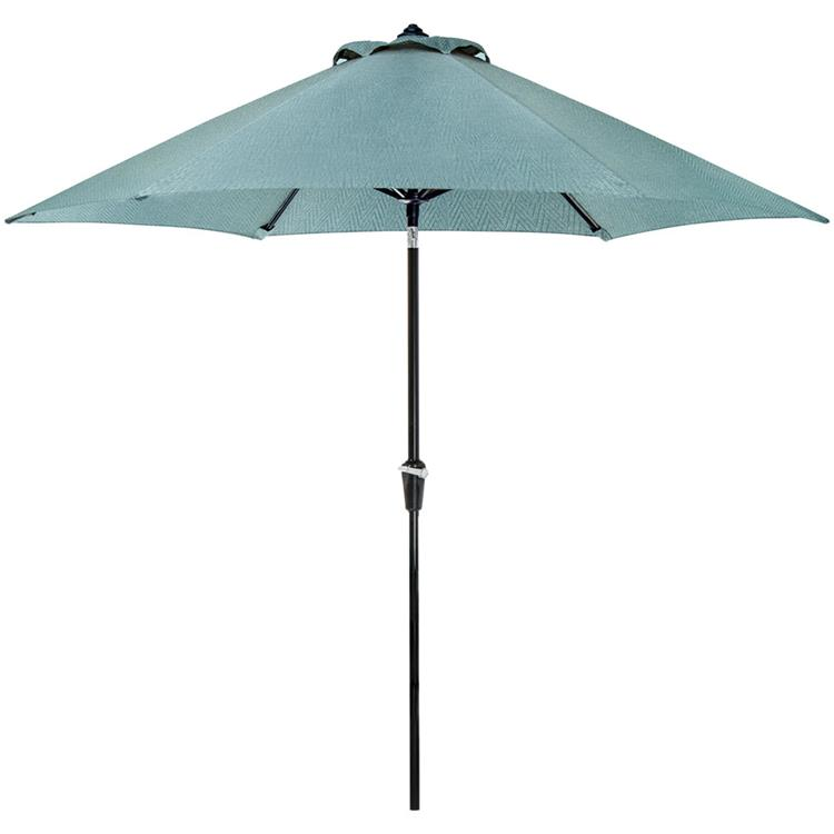 Hanover Lavallette Outdoor Table Umbrella In Blue