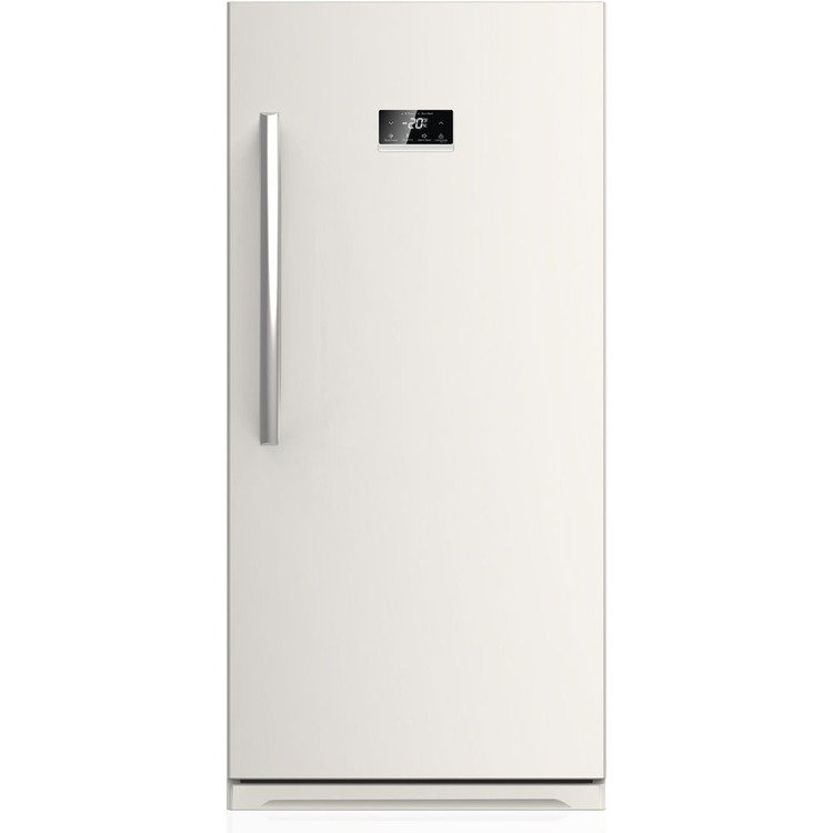 Energy Star 13.8 Cu. Ft. Frost-Free Upright Freezer with Door Alarm - White