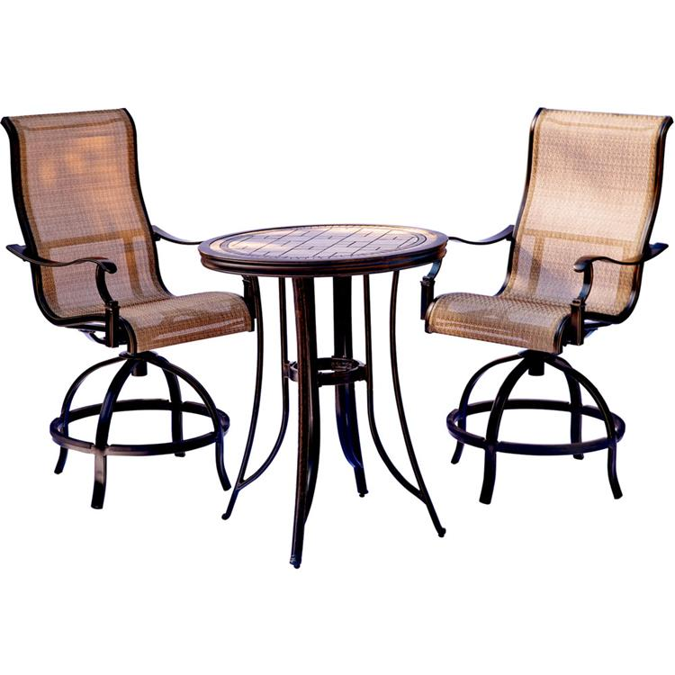 Hanover Monaco 3-Piece High-Dining Set