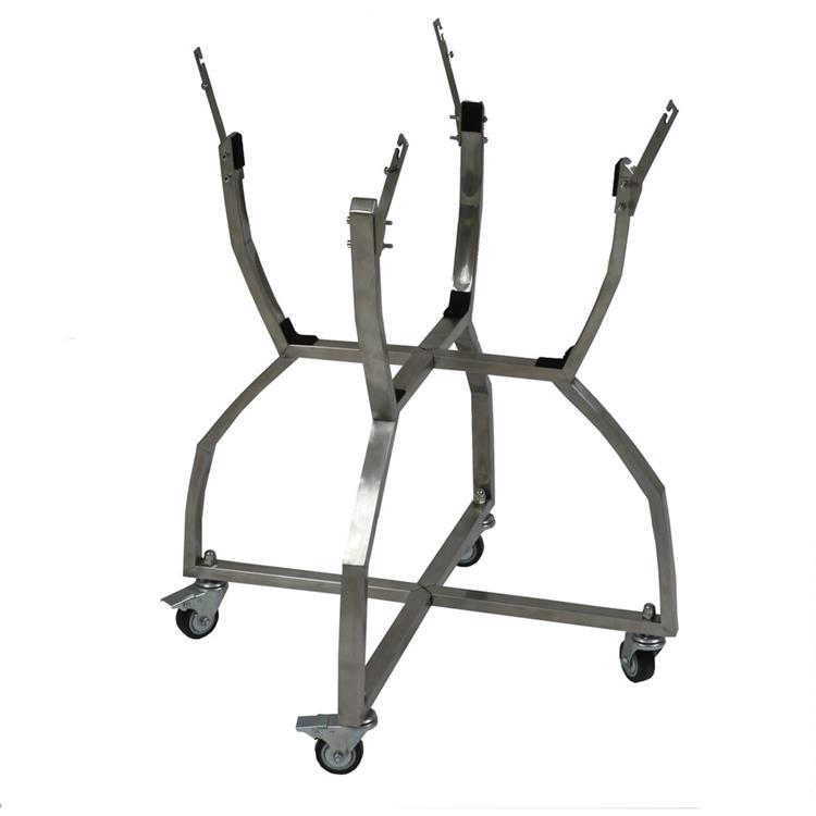 Hanover Kamado Stainless Steel Grill Cart [Item # HANKMHAN90101-SSC]
