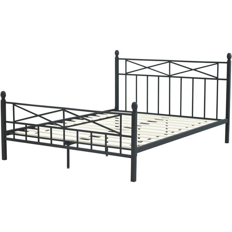 Hanover Uptown Metal Full Platform Bed Frame