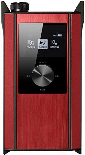 Portable Amplifier Audio Player Red