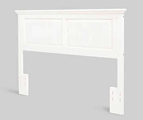 Arcadia Twin Wood Headboard, Gloss White