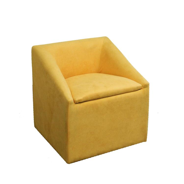 20.75 Inch Accent Chair With Storage
