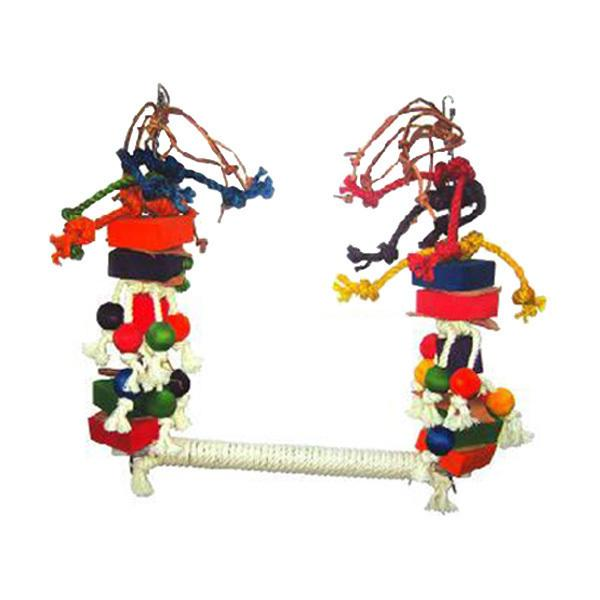 Medium Rope Swing with Blocks & Leather [Item # HB46258]