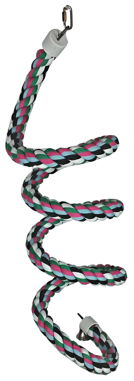 Extra Large Rainbow Cotton Rope Boing with Bell