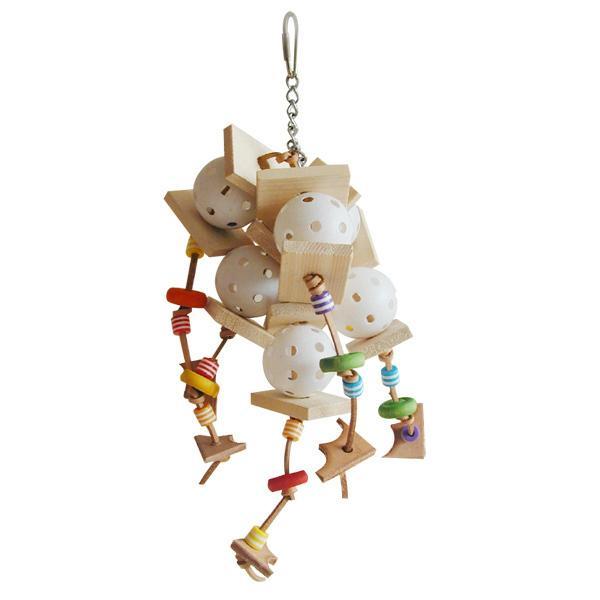 The Wiffler Happy Beaks Bird Toy