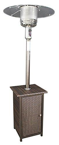 GH Patio Heater LP w/Wicker Stand