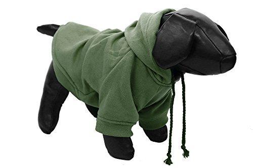 Fashion Plush Cotton Pet Hoodie Hooded Sweater