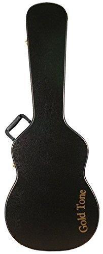 Gold Tone Hardshell Case For Round Neck Guitar