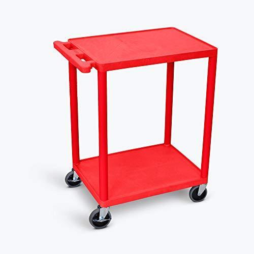 Luxor Utility Cart - Two Shelves Structural Foam Plastic