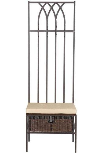 Southern Enterprises Tristan Hall Tree Entry Bench