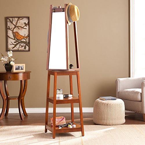 Adams Swivel Mirror Hall Tree