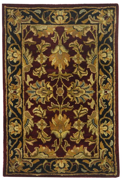 Heritage Red/Ivory Large Rectangle Rug